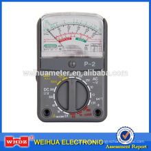 Analog Multimeter Analog Meter Multimeter, Voltage Meter Current Meter Portable Meter P-2