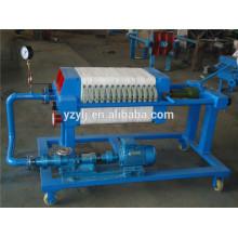 320 Platten- und Rahmenfilterpresse für Kokosöl, pp. Membranfilterplatte