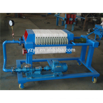320 plate and frame filter press for coconut oil , pp membrane filter plate