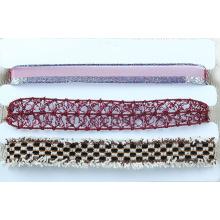 Tissu & Lace Multi Choker Necklace