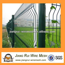 green color pvc coated wire mesh fencing