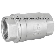 Válvula de retenção de mola de elevação em aço inoxidável