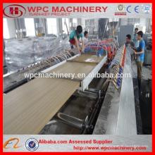 Linha de extrusão de painel de porta WPC / 600-900mm Máquina de porta de PVC de madeira / máquina de porta pvc