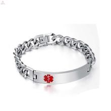 New arrival cuban link silver chain bracelet, cool man cuban link silver chain bracelet jewelry