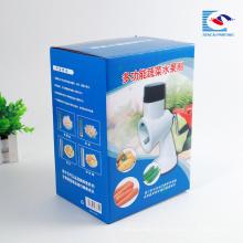 Caja de empaquetado corrugada de los productos electrónicos de encargo de la fábrica de China