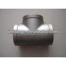 carbon steel Pipe Fitting Tee Equal zinc cool -dip