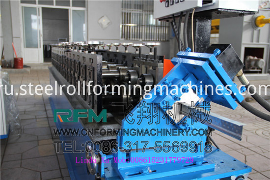 T Grid Cold Rolling Steel Bar Machine