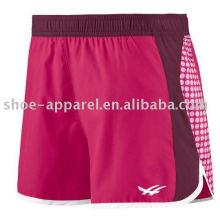 Women training shorts knit shorts sports shorts