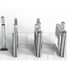 Control de acceso de reconocimiento facial con medición de temperatura