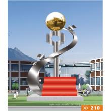 2016 Neue Metall Handwerk Edelstahl Kunst Skulptur