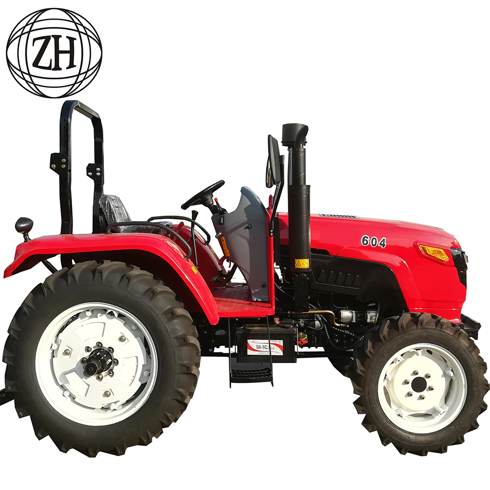Diesel Engine Four Wheel Farm Tractor Tractors Machine Agricultural