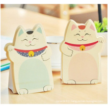 Cat Shape Sticky Notes. Adhesive Sticky Notes for Promotion