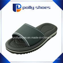 Women′s Black & White Comfort Thong Flip Flop Sandals Size 36