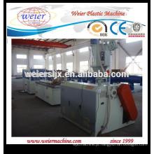 alta saída de linha de máquina extrusora de perfil plástico