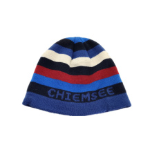 2019 new fashion acrylic jacquard beanie  knitted hat