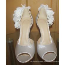 New Design Ladies High Heel Wedding Dress Stiletto (HCY02-1677)