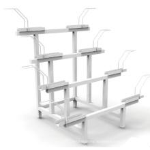 Стойка для велосипедов Полка для хранения металла Стальной держатель для велосипедов