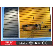 Display Wandpaneel feuerfeste PVC Slatwall Panel