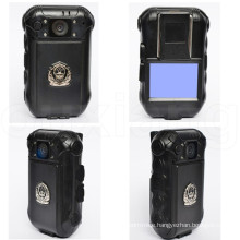 Waterproof OEM customize design 120 degree wide angle encrpytion tachniques PTT function portable police video body worn camera