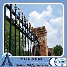 Precio de fábrica para el panel de la cerca de acero revestido del polvo de alta resistencia