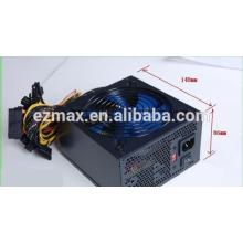 Fonte de alimentação ATX / PC 200-350W, amostra grátis, fabricada na China, ventilador silencioso de 12 cm