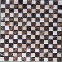 Mosaic Tile Dark Emperador Stone Marble Mosaic (HSM119)