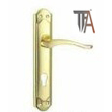 Golden Color Iron Material Door Handles