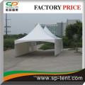 Sportzelt 6x9m in Aluminiumstruktur für Gartenparty