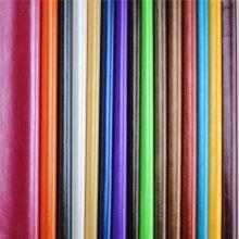 Cuero sintético asombroso del PVC de la PU de la cera de aceite de la calidad para el sofá (898 #)