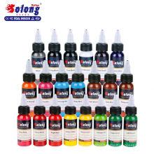 Solong Tattoo 21 Colors Professional Best Permanent Makeup Pigment Tattoo Ink