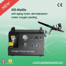 H2 Hydro Gesichts-Sauerstoff-Jet Peel Oxygen Peel Skin Dermabrasion Maschine