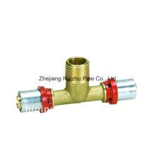Th Press Fitting para tubo de plástico (Tee)