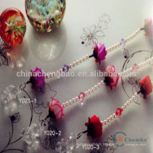 Chine gros artisanat plastique perle talon rideau