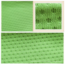 100% Polyester Micro Mesh Fabric für Bekleidung Jersey Garment