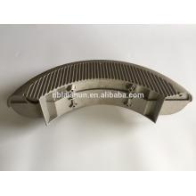 Precisão de liga de magnésio personalizado peças de processo de fundição peças de alumínio fundido