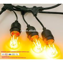 SL-06 STRING LIGHTS CORDS SETS guirlandes d'éclairage décoratives d'extérieur LED UL CSA