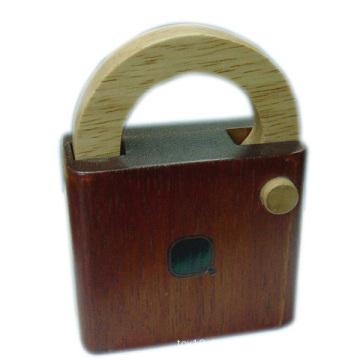 Gehirn Teaser Puzzle Wooden IQ Lock Spiel