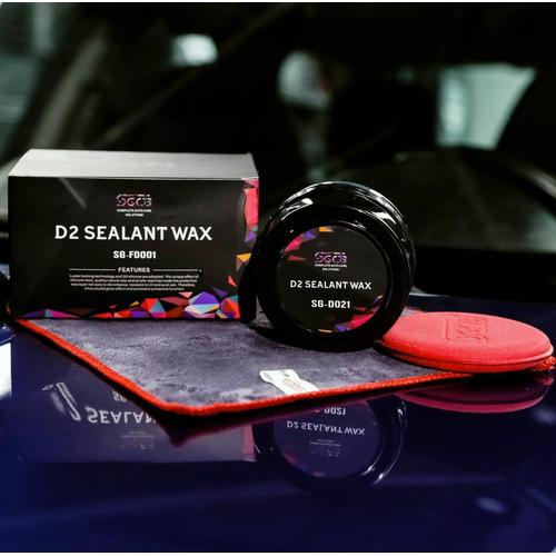 SGCB Synthetic D2 Sealant Wax Brazilian Carnauba Cleaner Wax Paste Kit de 4