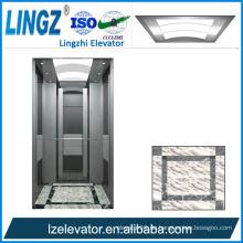 Villa Aufzug mit silbrigem Spiegel Radierung