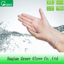 Clear Single Use Vinyl Glove