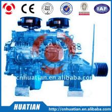 Motor diesel de 60kw / 81.6hp com a polia R6105P da correia da embreagem