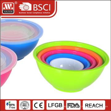 5 pièces bol à salade de 5pcs/set pp ensemble/plastique bol bol