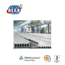 Mining Steel Rails with High Quality