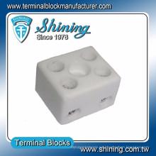 TC-202-A Terminal de cerámica eléctrica de 20 vías de alta temperatura de 20 vías