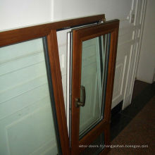 Fenêtre à guillotine double à prix bon marché à vendre Guangdong Foshan wanjia porte et fenêtre co. ltd