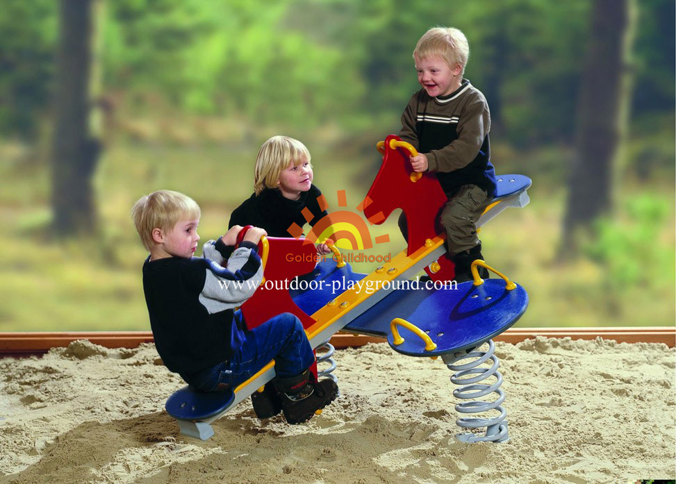 Playground Equipment Horse Spring
