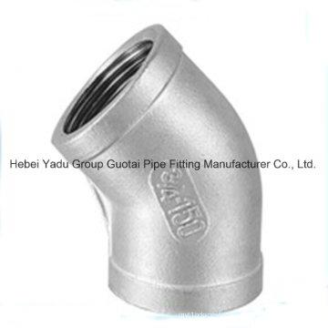 Raccords de tuyaux 304 en acier inoxydable Coude
