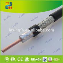 Paquet de câble Ethernet de câble coaxial professionnel de RG6 100m