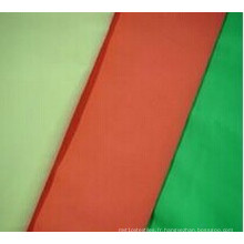 Tissu imbattable de microfibre de peau de pêche de polyester de 100% de prix