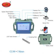 Máquina de detección ultrasónica profunda del probador de la salida de los tubos de agua subterráneos